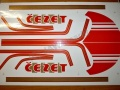 Sticker set JAWA ČZ 350 - Typ 472.5, 472.6