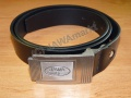 Elegant JAWA belt - right top leather