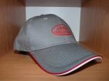 Baseball cap JAWA grey/red/white SUPER PRICE