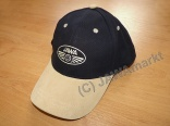 Baseball cap JAWA black/beige - leather visor