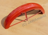Front mudguard CZ 476/477 - red - original old Stock