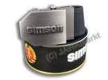 Textil Belt SIMSON - in closed can, BLACK