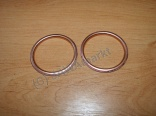Gasket of exh. pipe 350/250 - copper, original - set