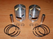 Piston set 350, pin 16 - 58,50-ALMET