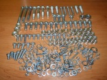 COMPLETE Screw set 250/350 ! -  without Engine