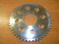 Rear chainwheel plate - mill work! 46t