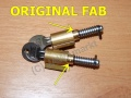 Set locks for sidecovers - ORIGINAL FAB