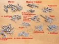 All screws Jawa 350/360 - POLISHED STAINLESS...