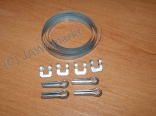 Dust cover clips - set for Jawa 50