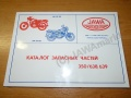 Spare-parts catalogue Jawa 638/639 - in...