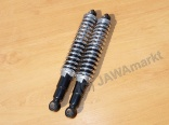 Rear shock absorber JAWA 634 - CHROM - Original