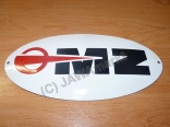 Email Logo MZ 30x14,5 cm - rot