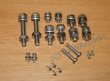 PAV screw set - stainless