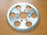 Rear chainwheel plate CZ scooter Typ 501