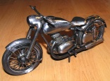Only 2pcs - iron Model Jawa 350  - very nice handmade